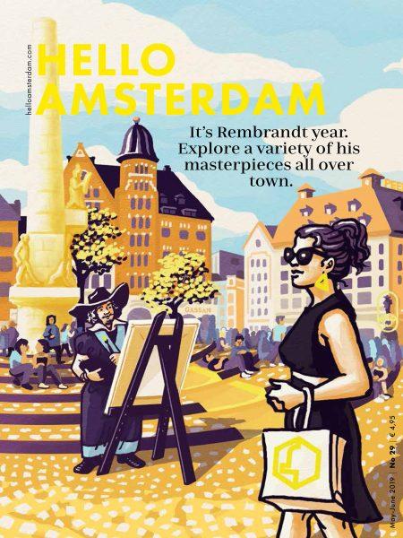 Hello Amsterdam cover