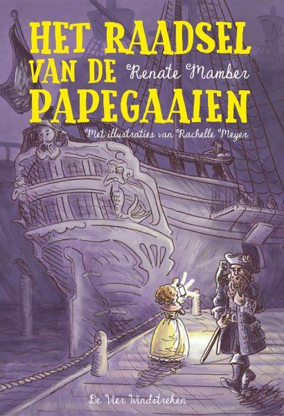 Het Raadsel van de Papegaaien cover art