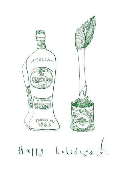 Martini and Amarilis