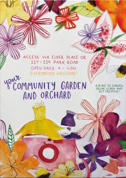 Community Garden Flowers AOI
