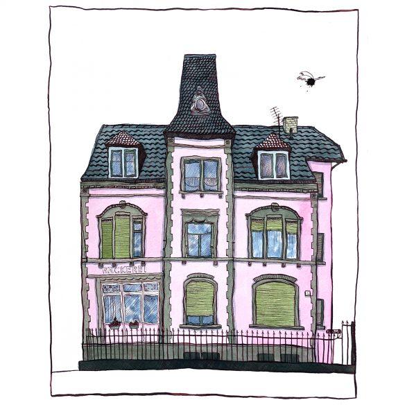 Light Pink House