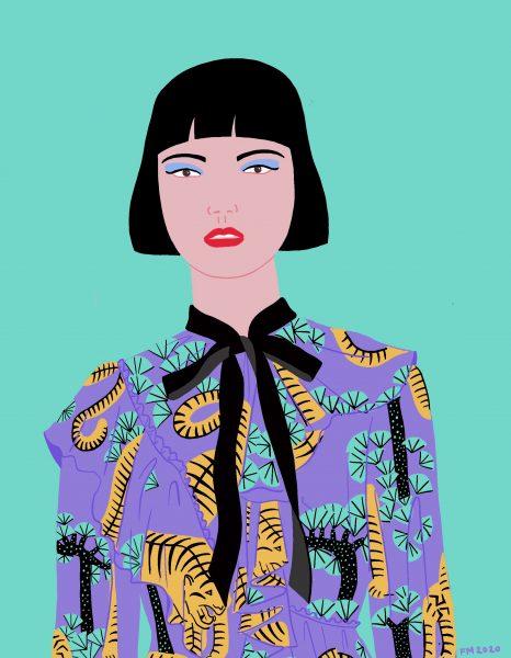 Gucci Tiger Dress