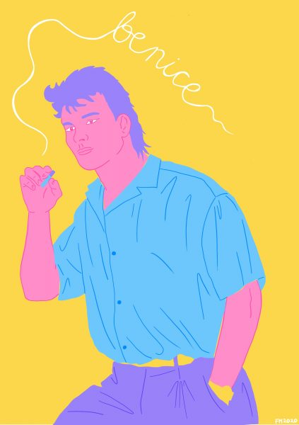 Patrick Swayze 'Be Nice'