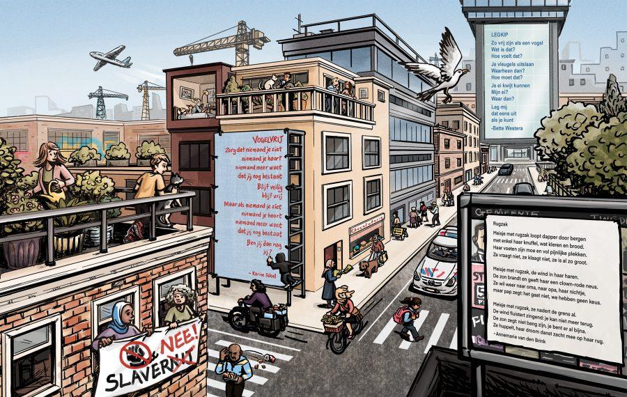 Freedom city scene