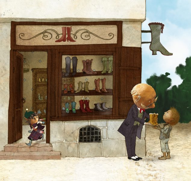 The Elf and the Bootmaker 02