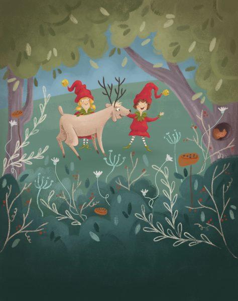 reindeer down 4