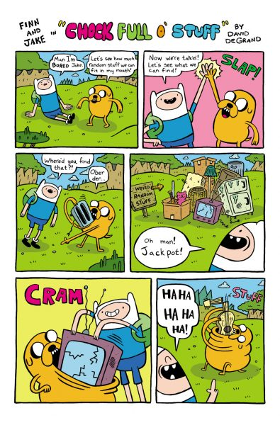 Adventure Time comic page