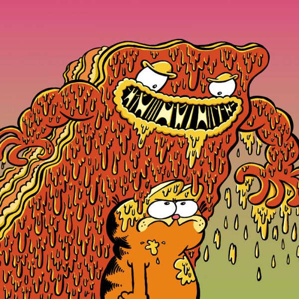 Garfield and Lasagna Monster