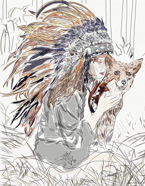 cherokee w fox