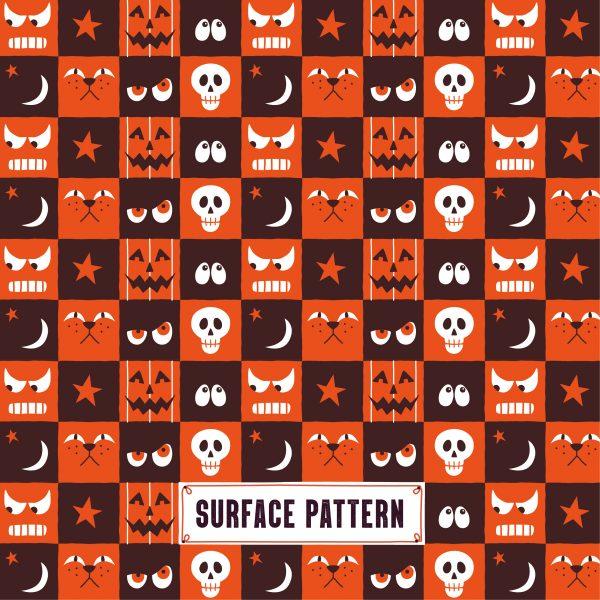 Halloween Surface Pattern