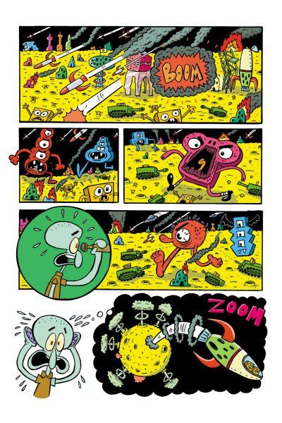 SpongeBob Comics page