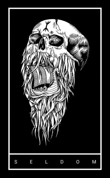Bearded Skull Clothing Design