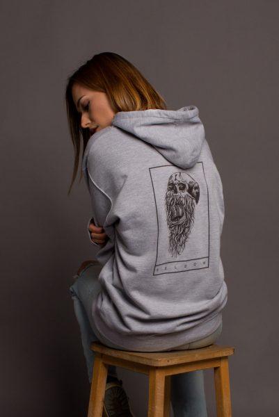 Seldom Clothing Grey Hoodie