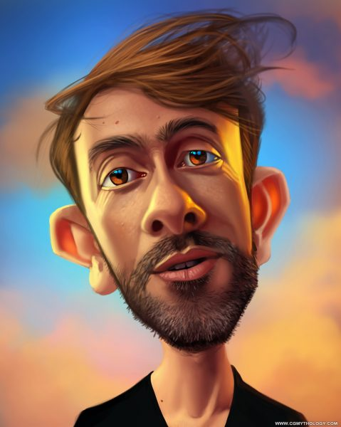 Yiannis Caricature