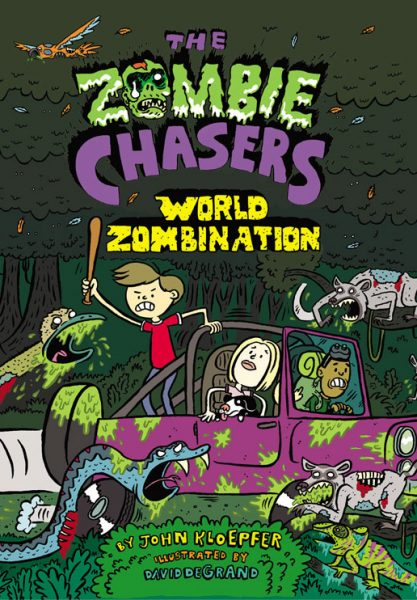 Zombie Chasers 7 cover