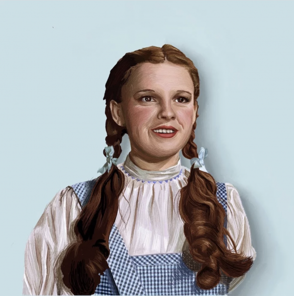 Portrait of Dorothy from the Wizard of Oz
