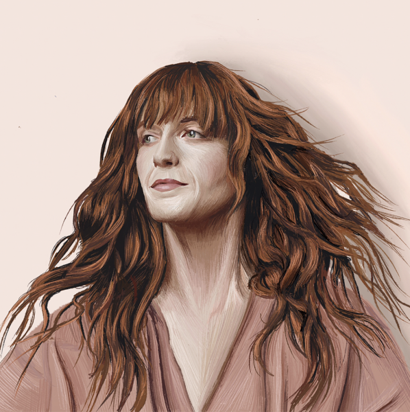 Portrait of Florence & the Machine