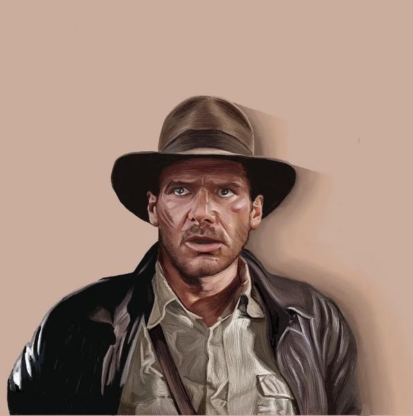 Portrait of Indiana Jones