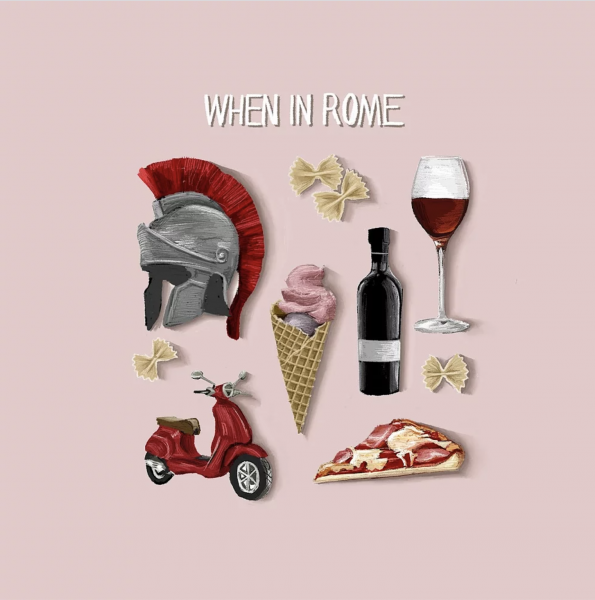 When in Rome Spot Illustrations