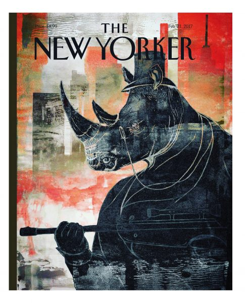 The New Yorker Front Cover Design