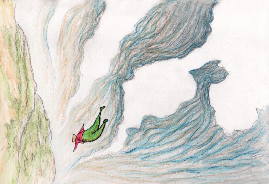 Angelus falling