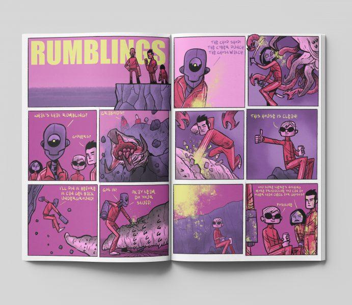 Rumblings Comic