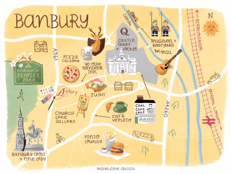 Banbury Map