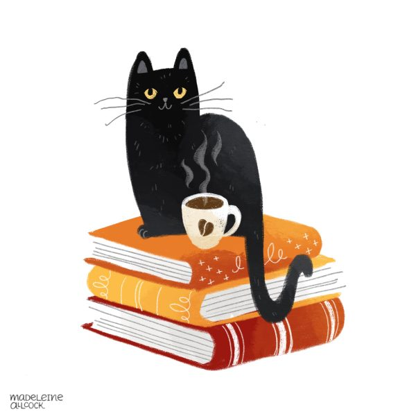 Cats, books and coffee