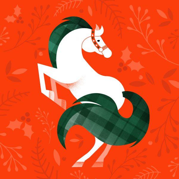 Festive Horse