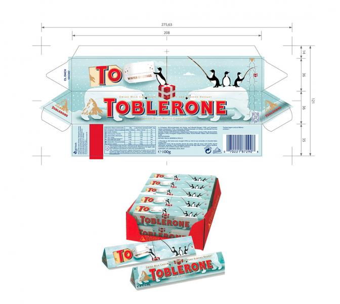 Toblerone Packaging