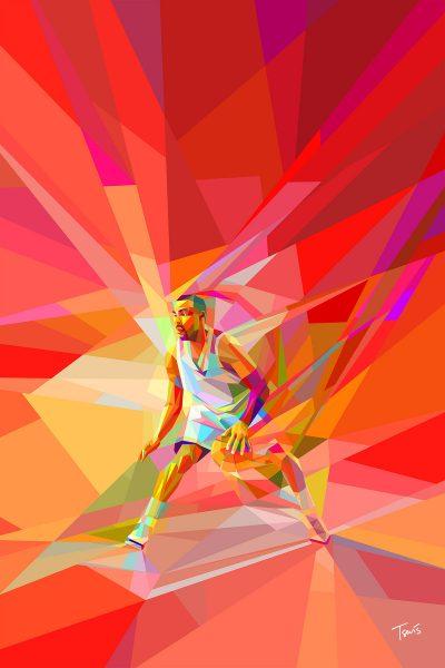 Lega Basket Serie A Neofuturism