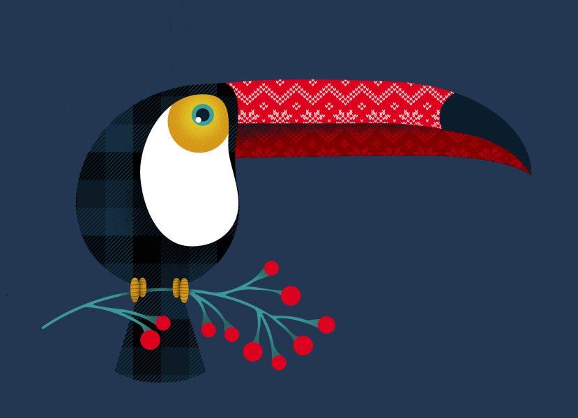 Festive Tucan