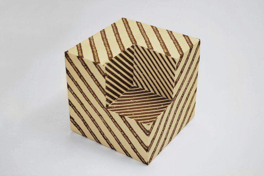 10_Flatland: A Romance of Many Dimensions Cube