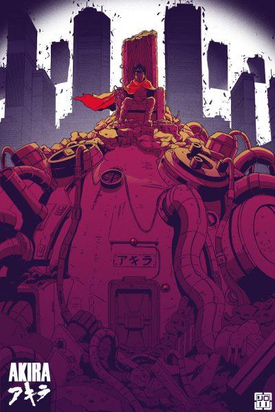 11_AKIRA Poster Master