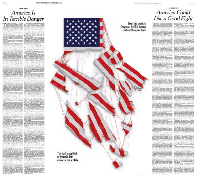 NYT spread