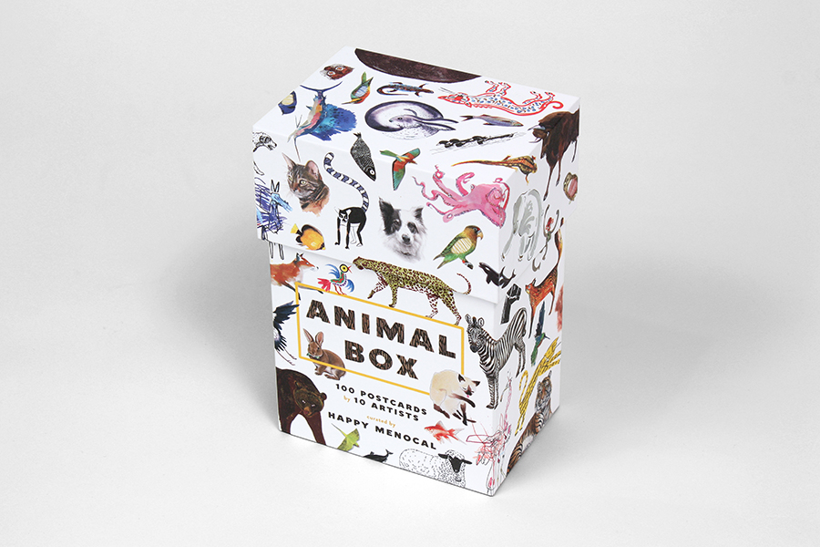 15_Animal postcards, for Princeton Architectural Press