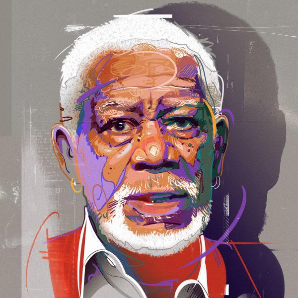 17_Morgan Freeman Portrait