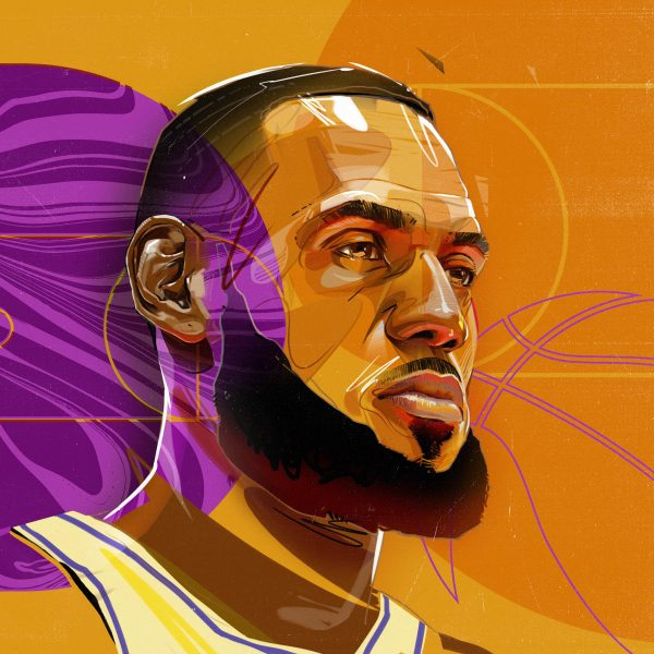 2_LeBron James Portrait
