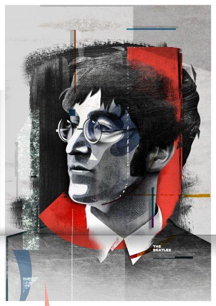 3_John The Beatles