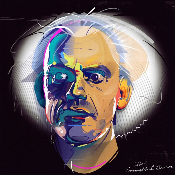 5_Dr Emmett Brown Portrait