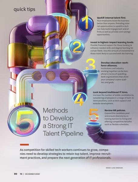 IT Talent pipeline Talent Development magazine