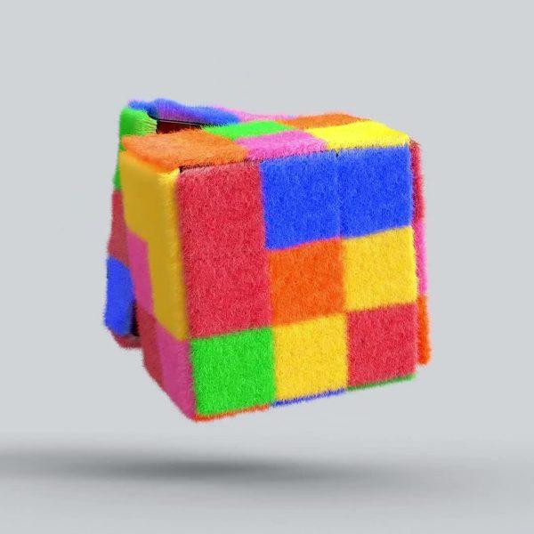 9_Fluffy Cube