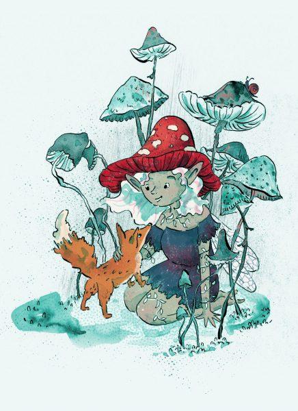 DTIYS Mushroom Fairy