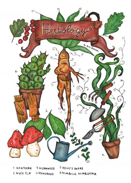 Herbology by Bity Booker