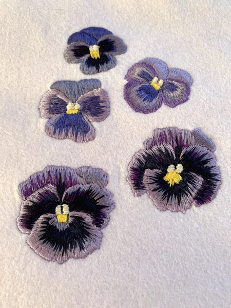 Pansy Samples