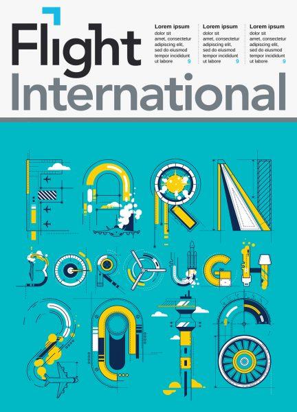 FLIGHT INTERNATIONAL / FARNBOROUGH 2016 FOR COVER OF THE MAGAZINE