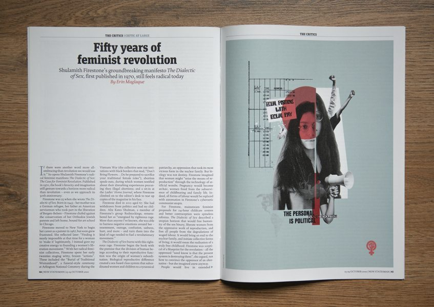 SHULIE editorial for New Statesman Magazine