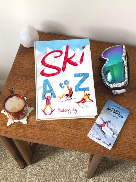 Ski A-Z Book mock up image