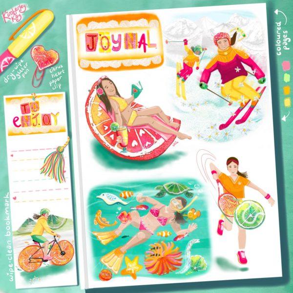 Sporty Citrus Journal