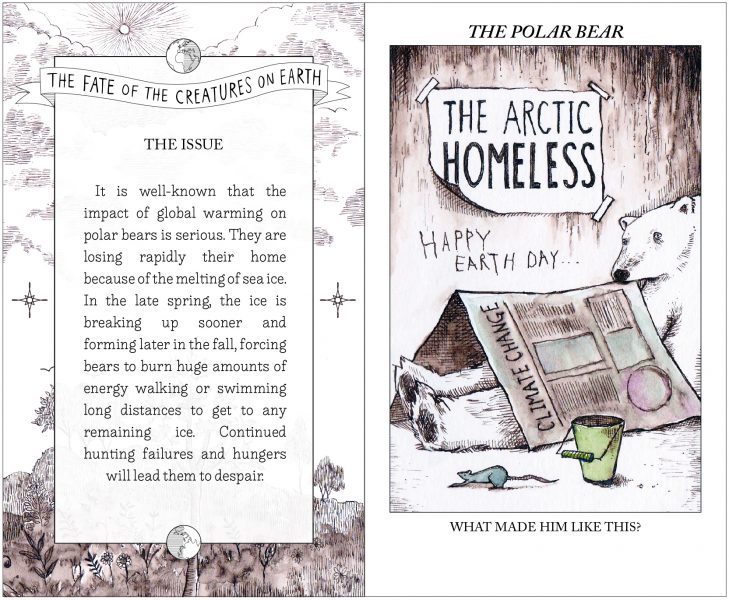 The Fate of the Creatures on Earth_the Polar Bear